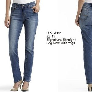 U.S. Polo Assn New Signature Straight Leg Jeans